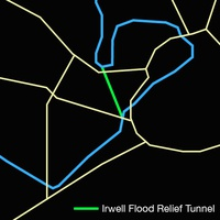 Proposed River Irwell flood relief tunnel